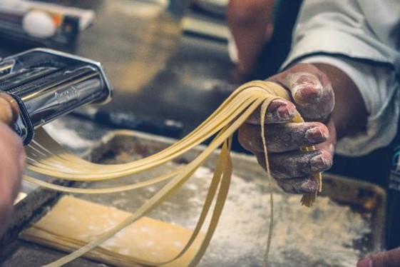 Pasta Rolling by Hand